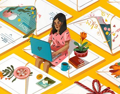 NPR Editorial Illustration