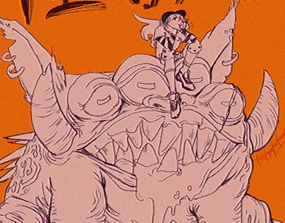 Illustration: Kaijuu
