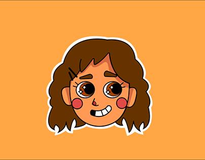 chara design autoportrait