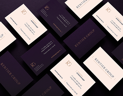 Logo and identity site for real estate company