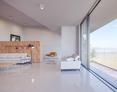 Livingroom visualization 3D