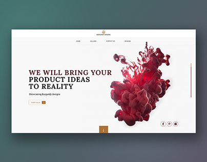 Website design for product development company