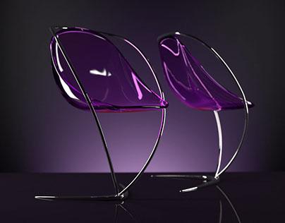 Chair designed by Petricov Max for Villa Archa in 2017