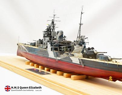 1/350 HMS Queen Elizabeth