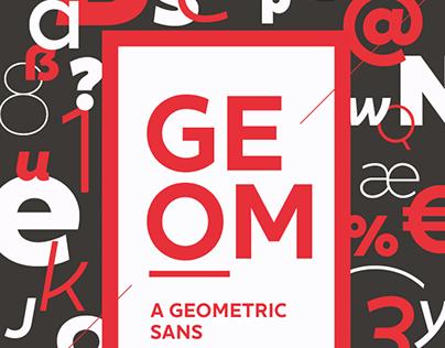 XXII Geom - Font Family
