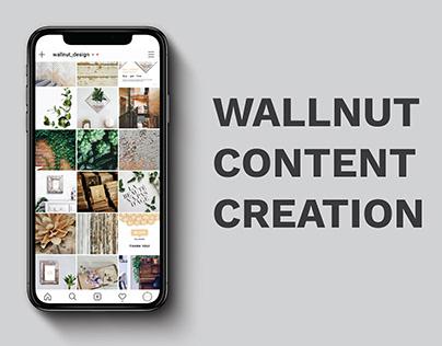 Wallnut Social Media Product Content