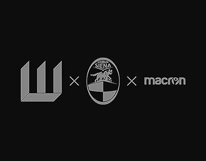 Macron x Società Sportiva Robur Siena (MOCKUP)