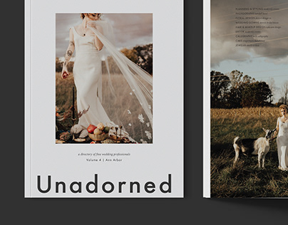 Unadorned Magazine Issue No. 4, Cornman Farms