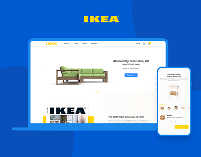 IKEA • STORE • FURNITURE • WEB • DESIGN •