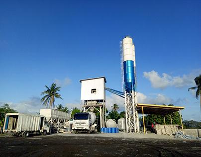 Skip Hoist Concrete Batching Plant