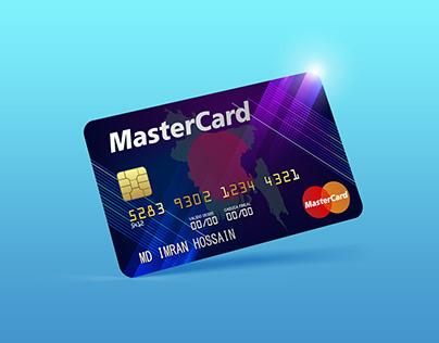 Free Master card Mockup PSD