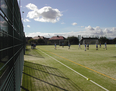 Newbattle Full Size Synthetic Turf Pitch
