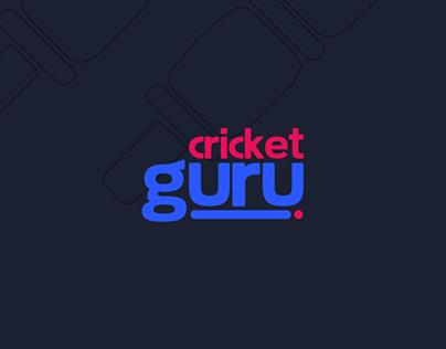 Cricket Guru Mobile App Game Design