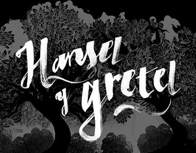 Hansel & Gretel app illustrations
