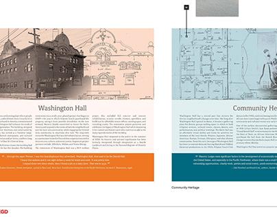 Washington Hall Interpretive Display