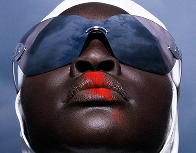 Harper's Bazaar - Alek Wek