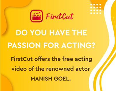 First cut   Acting Passion