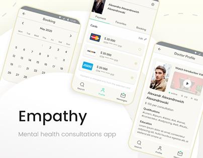 Empathy, Psychology app