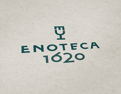 Enoteca 1620 logo proposal