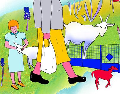 Illustrations for Postpost.media