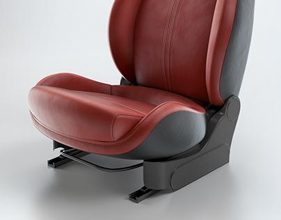 Product Shot - 500 Abarth  interior configuration