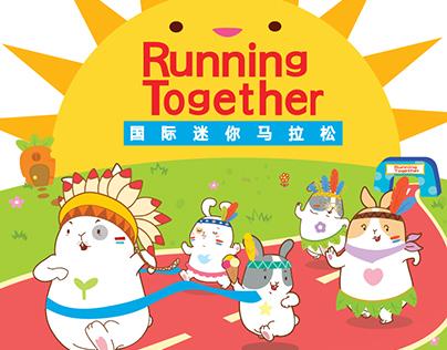 Cartoon character design for marathon
