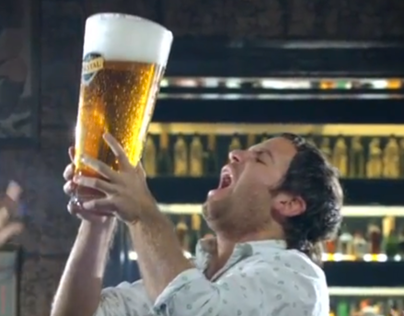 Cerveza Cristal / Salgamos Jugando.