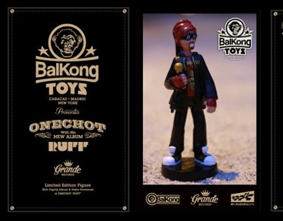 Balkong Toys. 1st Collection. ONECHOT