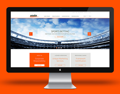 Intralot web redesign proposal