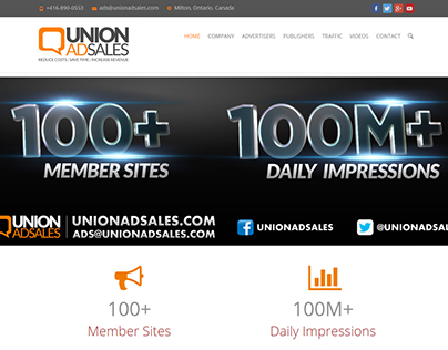 UnionAdSales.com Official Website