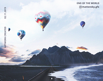 END OF THE WORLD - POSTER / ILLUSTRATION CONCEPT