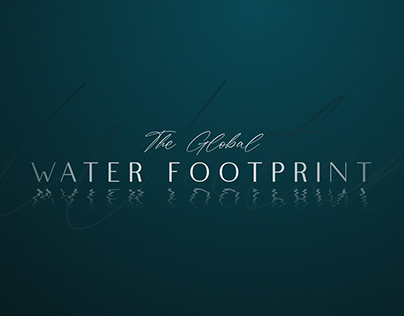 The Global Water Footprint Infographic