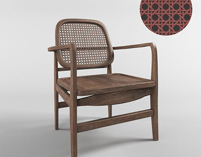 Download Free 3D Models Cafe Chair By Nguyen Minh Khoa