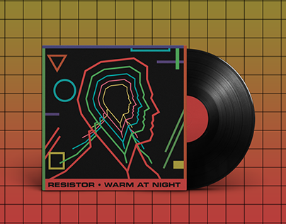 Resistor's 'Warm at night' single artwork
