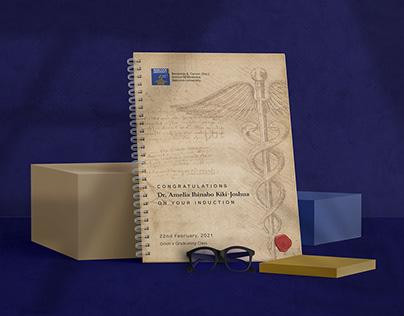 For Dr. Amelia Ibinabo Kiki-Joshua: A Notepad Design