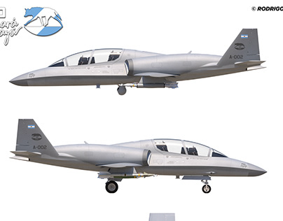 IA110 Aguará Guazú Concept Light Attack Aircraft Views