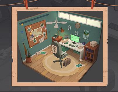 Detective's room