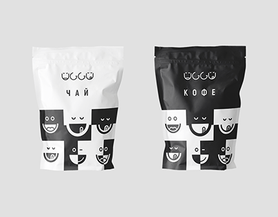 UGGU. COFFEE & CAKES. BRANDING