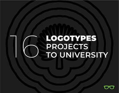 16 logotypes to marketing sector from one university