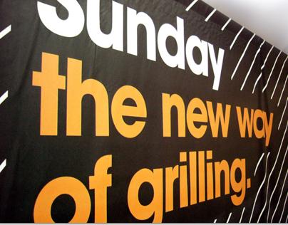 Branding Sunday Grill (by MCZ Garden)