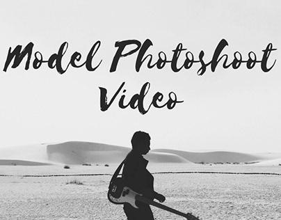 Model Photoshoot Video