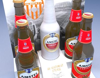 Displays Amstel-Valencia CF
