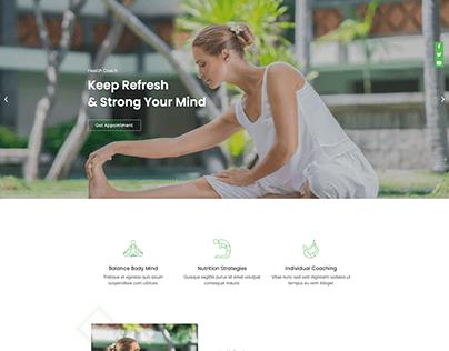 Health Care Coaching Website Design