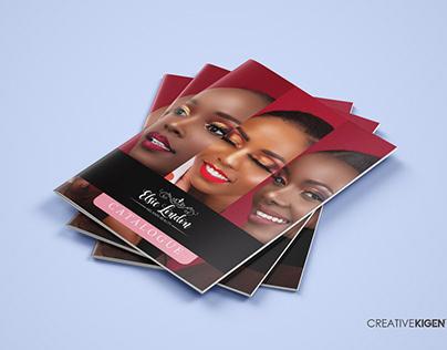 Catalog Design in Kenya for Elsie London Beauty