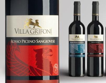 Villa Grifoni wine