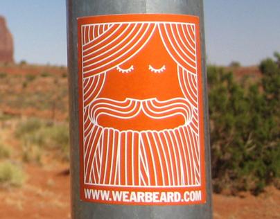 WEARBEARD Stickers