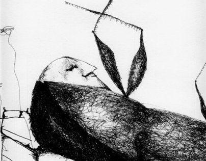 Al despertar Gregorio Samsa. Ilustración (COPY)