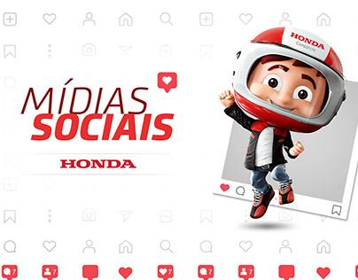 HONDA - MÍDIAS SOCIAIS