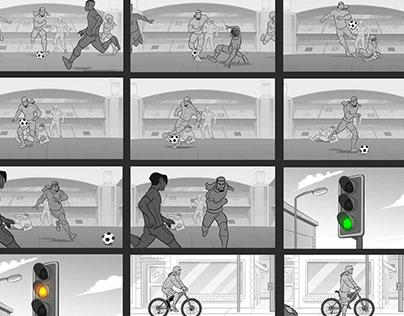Sanral Road Safety Cycling Storyboard