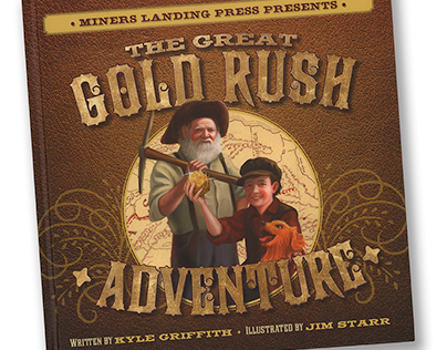 Great Gold Rush Adventure Book